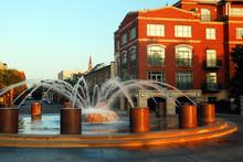 Fountain Along Charleston's Wa...