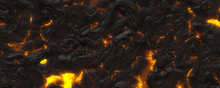 3d Material Hot Magma Background