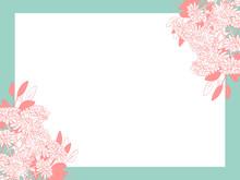 Hand Drawing Pink Chrysanthemu...