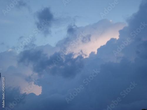 Obraz chmura - fototapety do salonu