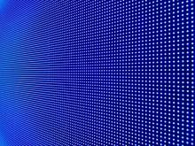 Close-up Of Illuminated Blue L...