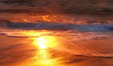 Odbicie Słońca W Wodzie