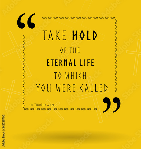 Photo Best Bible quotes about eternal life