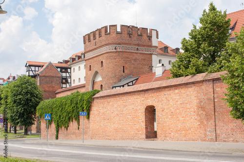 Fototapeta mury obronne miasta obraz
