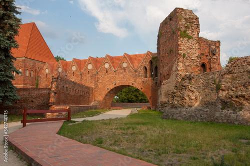 Fototapeta mury starego miasta obraz