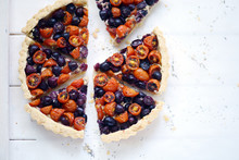 Summer Salted Tart With Cherry...