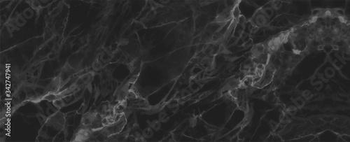 Fototapeta black cracked Marble texture frame background obraz