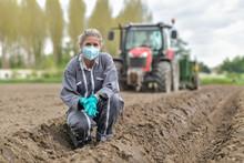Female Farmer  Analyses The So...