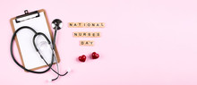 National Nurse Day Concept. Ba...