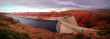 View Over Glen Canyon Dam, Lak...