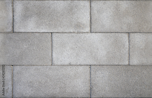 Photo Seamless asymmetry concrete tile on the floor.