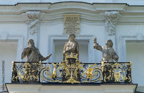 Foto Bonn, Heilige Stiege von Balthasar Neumann auf dem Kreuzberg