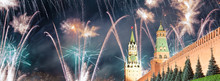Moscow Kremlin And Fireworks I...