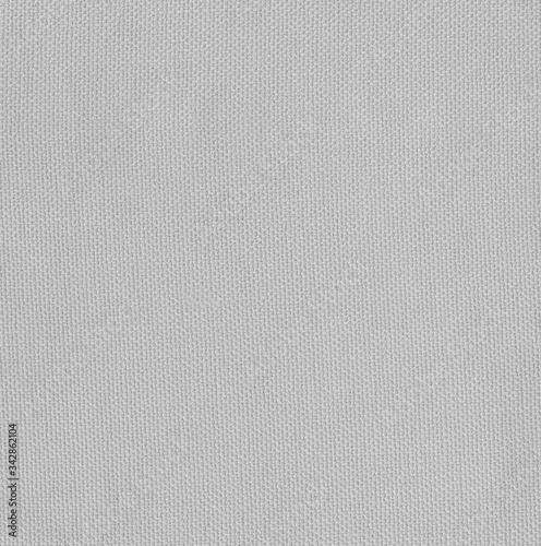 Light grey fabric seamless texture for interior Canvas Print