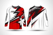 Long Sleeve T-shirt Sport Moto...