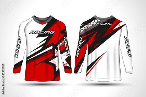 Cuadros en Lienzo Long sleeve t-shirt sport motocross jersey