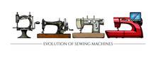 Evolution Of Sewing Machines