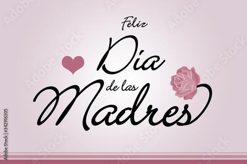 Cuadros en Lienzo Feliz Día de las Madres 10 de Mayo