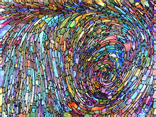 Stained Glass Swirl