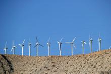 Landscape With Wind Turbines C...