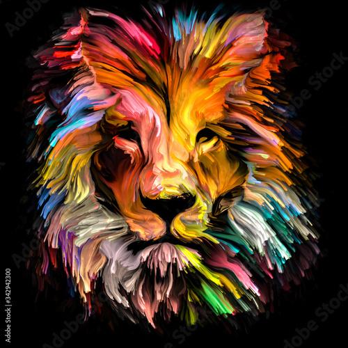 Foto Spectrum Lion