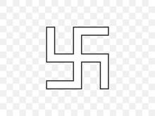 Buddha, Swastika Icon. Vector ...