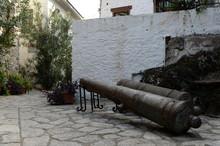 Ancient Artillery Pieces In Th...