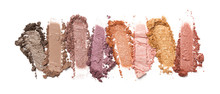 Close-up Of Make-up Swatch. Sm...