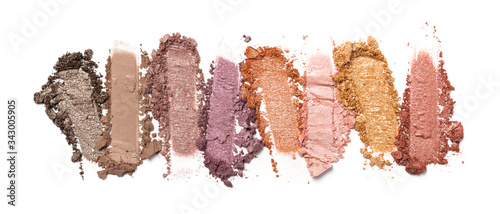 Photo Close-up of make-up swatch