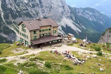 Alpine Hut Rifugio Brentei And...