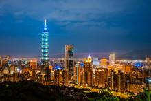 May 4, 2019 :Skyline Of Taipei...