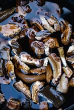 Mushroom Soup Made With Dried Wild Mushrooms