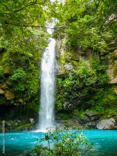 Fototapeta Catarata Escondida, Rincon de la Vieja national park, Ganacaste, Costa Rica