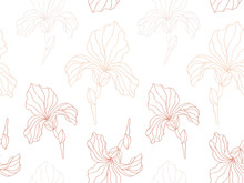 Floral Seamless Pattern With I...