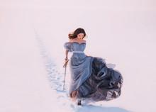 Fantasy Lonely Princess Redhea...