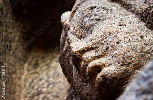 Fotografie, Obraz Mahabalipuram statues