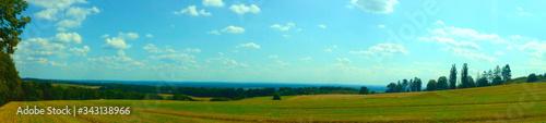 Fotografie, Obraz Widok z Góry świętej Anny - panorama