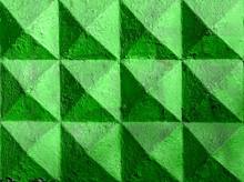 Green Pyramid Fence
