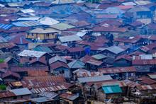 Nigerian Village Roofs