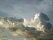 Leinwandbild Motiv Low Angle View Of Cumulus Clouds In Sky