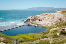 Scenic View From Sutro Baths U...