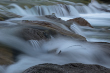 A Clean Mountain Stream With C...