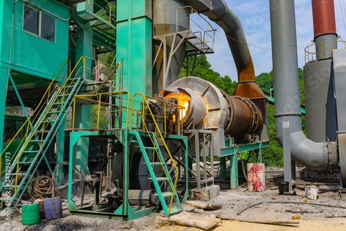 Photo Factory coal burner