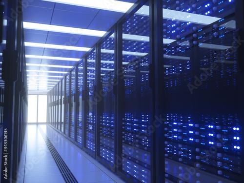 Fotografiet data center