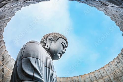 Photo The great Buddha at Hill of Buddha