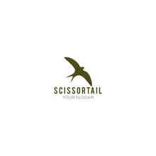 Simple Scissortail Logo Design...