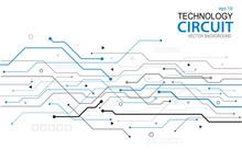 Abstract Futuristic Circuit Bo...