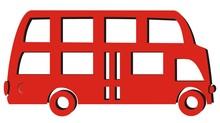 Bus Passenger, Red And Black V...