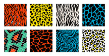 Animal Skin Background Pattern...