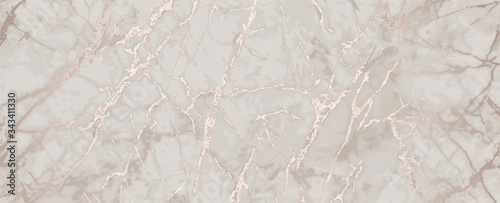 Fototapeta pink gold marble metallic luxury background obraz